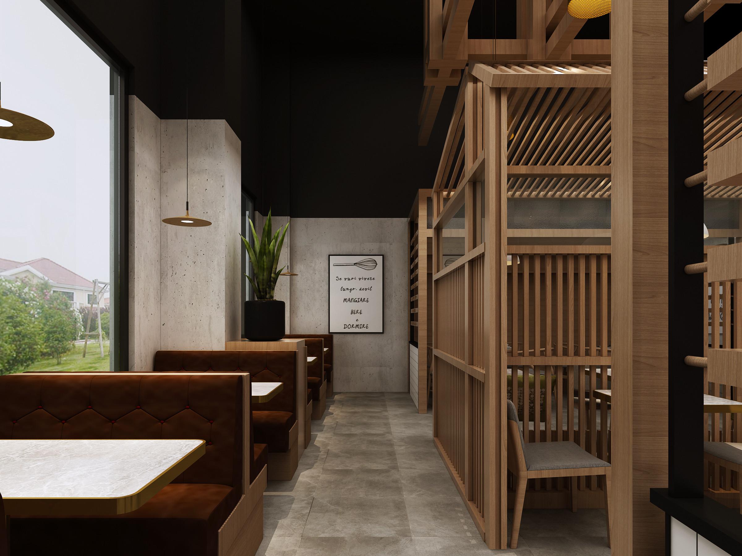 广东新兴稻稻居面店餐厅设计