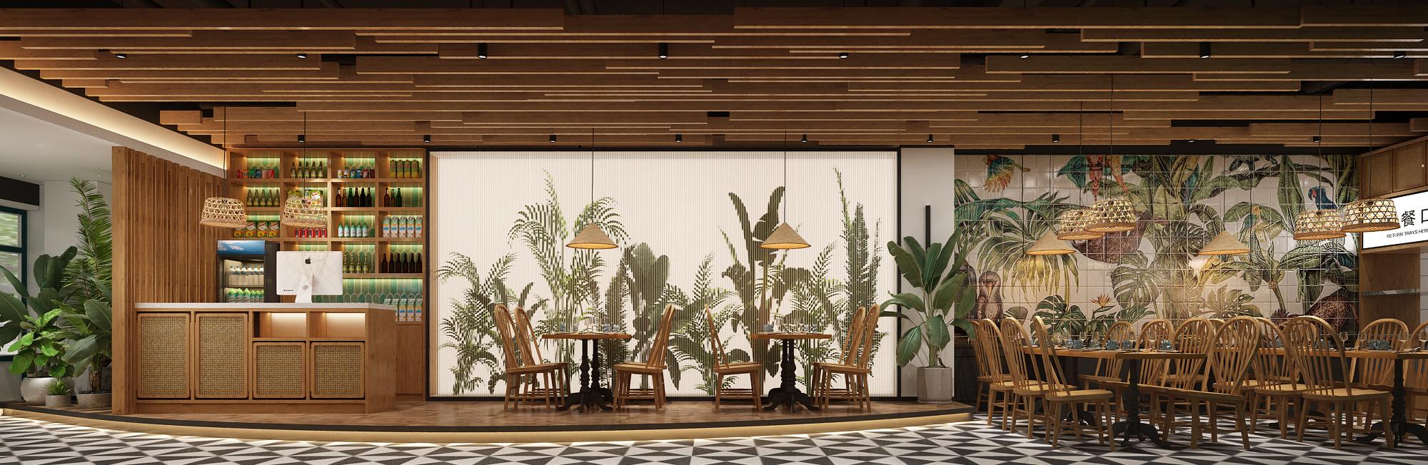 菲律宾快餐店设计