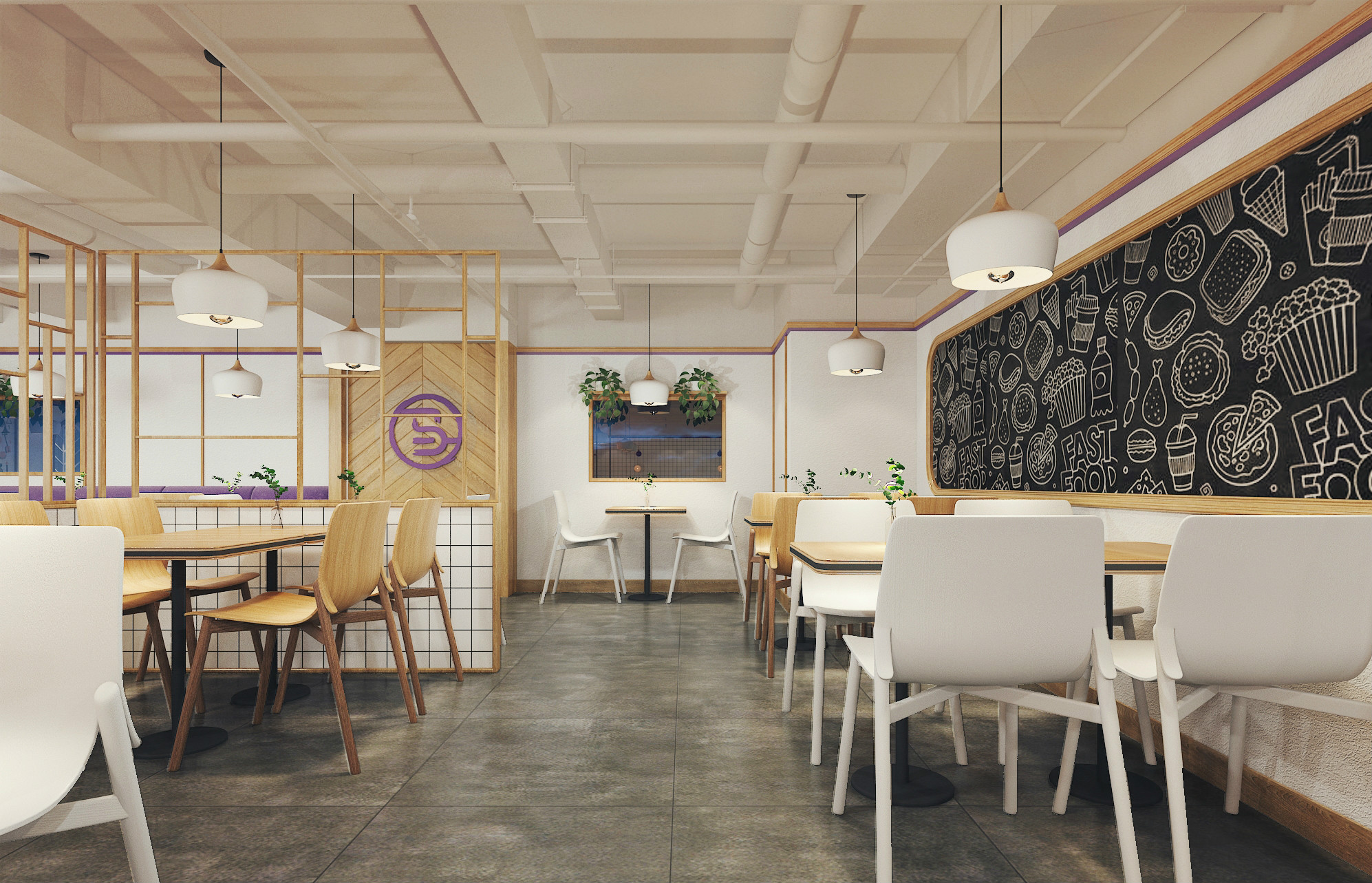 马同学餐厅设计