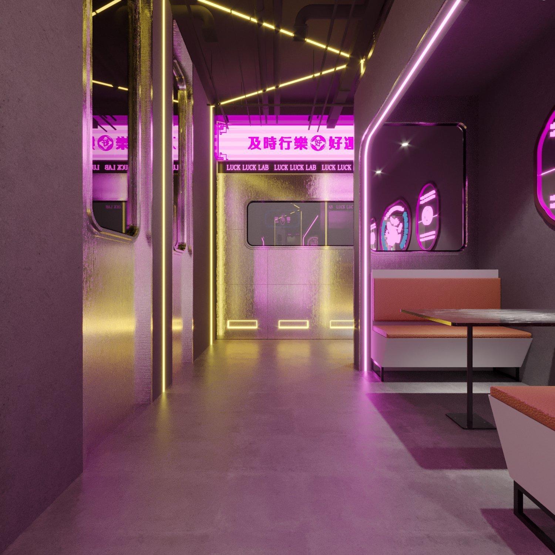国潮风餐厅设计