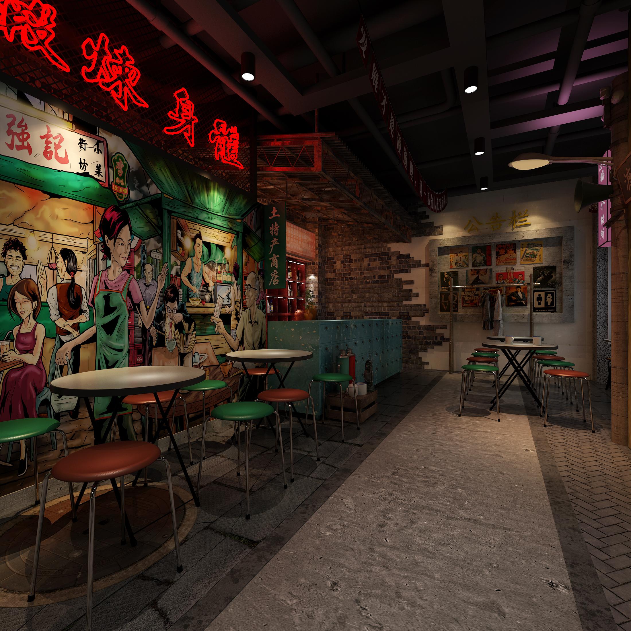 复古餐厅设计