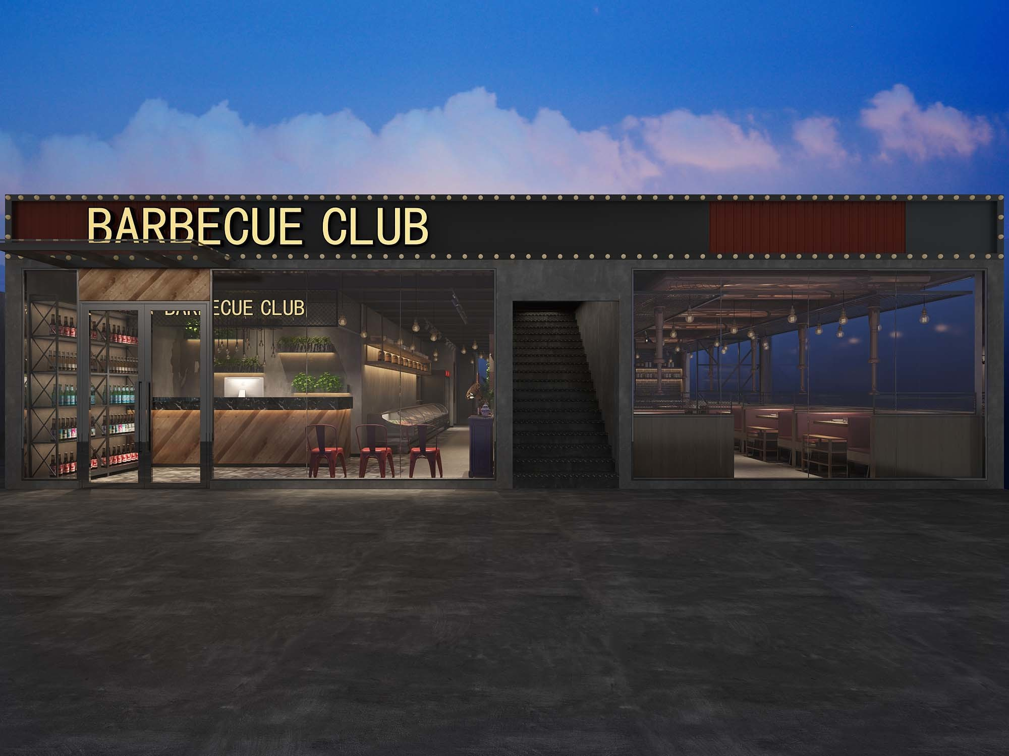 烤肉店设计