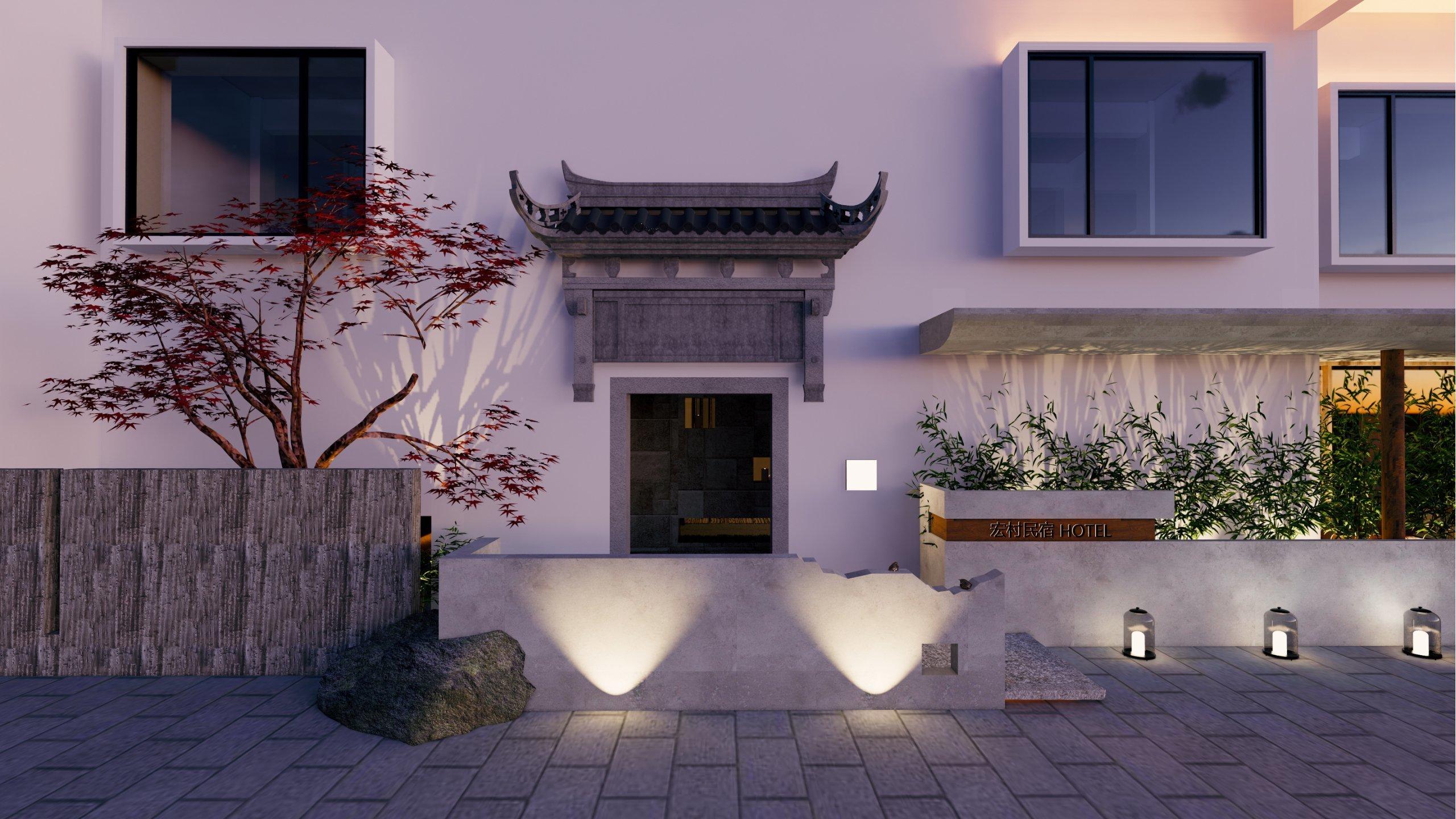 宏村民宿设计